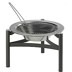 Dancook - Stainless steel 9000 firepit with spark guard