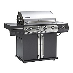 Landmann - Avalon 4 burner gas barbeque with rotisserie