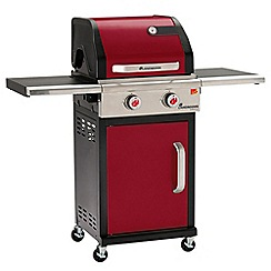 Landmann - Red 'Triton' 2 burner gas barbeque
