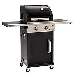 Landmann - Black 'Triton' 2 burner gas barbeque