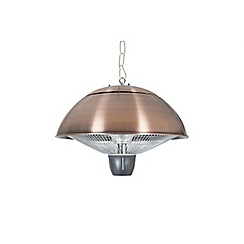 La Hacienda - Copper effect hanging electric heater