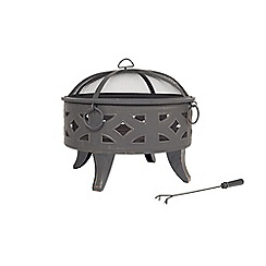 La Hacienda - Diamond steel firepit