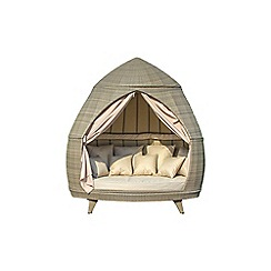 Debenhams - Light brown rattan effect 'LA Casbah' daybed