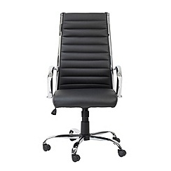 Alphason - Black 'Hartford' office chair
