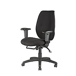 Alphason - Black 'Trinity' office chair