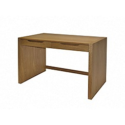 Alphason - Oak finished 'Butler' desk