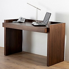 Alphason - Walnut finished 'Campbell' desk