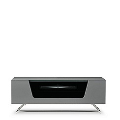Alphason - Grey 'Chromium' TV unit