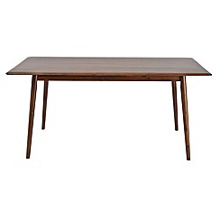 Debenhams - Acacia 'Estelle' fixed-top table
