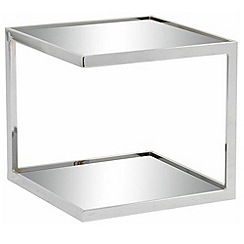 Debenhams - Mirrored 'Nolan' side table