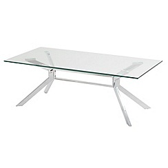 Debenhams - Glass 'Tista' coffee table