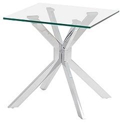 Debenhams - Glass 'Tista' side table