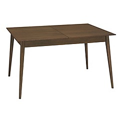RJR.John Rocha - Walnut finished 'Eclipse' medium extending table
