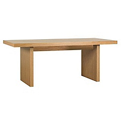 RJR.John Rocha - Oak finished 'Elements' fixed-top table