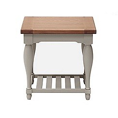 Willis & Gambier - Oak and painted 'Worcester' side table