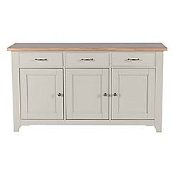 Willis & Gambier - Oak and painted 'Worcester' large sideboard
