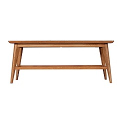 Debenhams - Oak finished 'Smithfield' coffee table