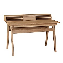 Debenhams - Oak finished 'Smithfield' desk