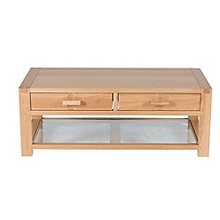 Willis & Gambier - Oak 'Monterey' coffee table with 2 drawers