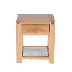 Willis & Gambier - Oak 'Monterey' side table with single drawer