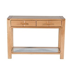 Willis & Gambier - Oak 'Monterey' console table
