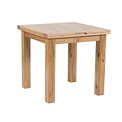 Willis & Gambier - Oak 'Normandy' flip-top table