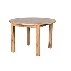 Willis & Gambier - Oak 'Normandy' round extending table