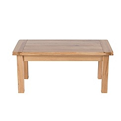 Willis & Gambier - Oak 'Normandy' coffee table
