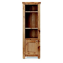 Willis & Gambier - Oak 'Normandy' narrow display cabinet