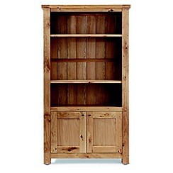 Willis & Gambier - Oak 'Normandy' display cabinet