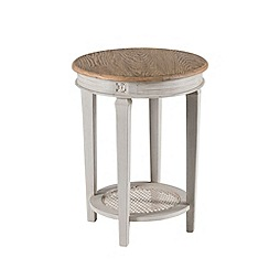 Willis & Gambier - Oak and painted 'Florence' side table