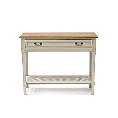 Willis & Gambier - Oak and painted 'Florence' console table