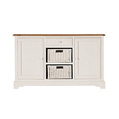 Debenhams - Poplar wood and painted 'Chantilly' large sideboard