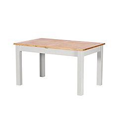 Debenhams - Oak and grey painted 'Chiswick' extending table