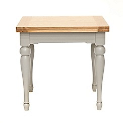 Willis & Gambier - White-washed oak and painted 'Worcester' flip-top table