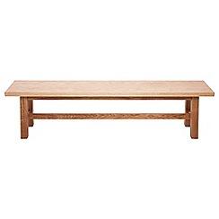 RJR.John Rocha - Oak 'Trinity' bench