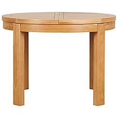 Debenhams - Oak 'Nord' round extending table