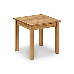 Debenhams - Oak 'Chester' side table