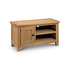 Debenhams - Oak 'Arlington' TV unit