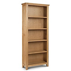 Debenhams - Oak 'Arlington' large bookcase