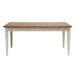 Willis & Gambier - Oak and painted 'Florence' extending table