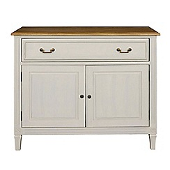 Willis & Gambier - Oak and painted 'Florence' small sideboard