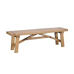 Debenhams - Reclaimed wood 'Toscana' bench
