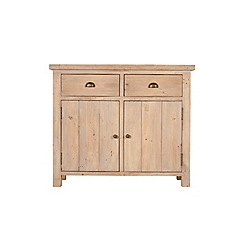 Debenhams - Reclaimed wood 'Toscana' small sideboard