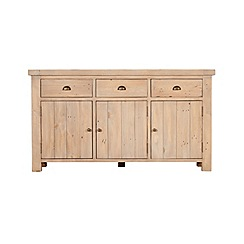 Debenhams - Reclaimed wood 'Toscana' large sideboard