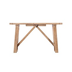 Debenhams - Reclaimed wood 'Toscana' console table