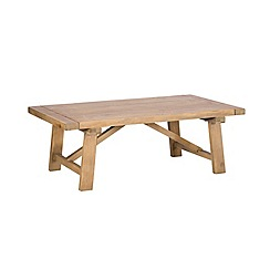Debenhams - Reclaimed wood 'Toscana' coffee table