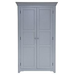Willis & Gambier - Grey painted 'Worcester' larder storage unit