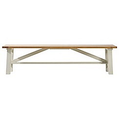Debenhams - Acacia wood 'Wadebridge' bench