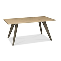 Debenhams - Oak 'Wayney' dining table